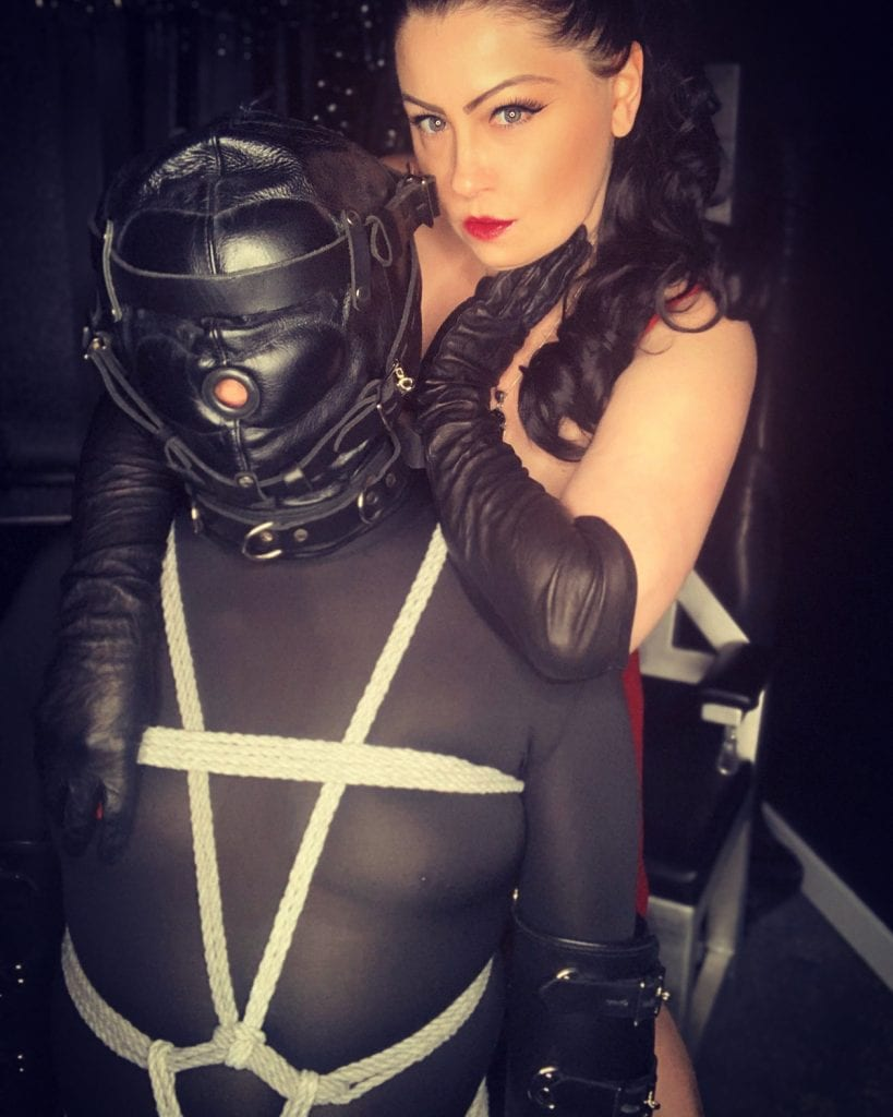 Victoria Rage and her Personal Slave